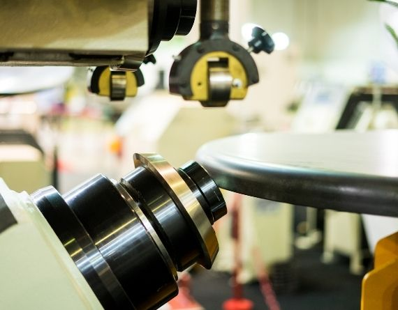 Sheet Metal Spinning Machine