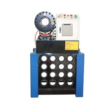 Manual Hand Type Sheet Metal Steel Pipe Hydraulic Hose Swaging Machine