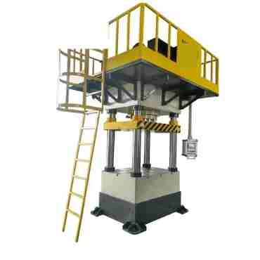 Double-Action Hydraulic Press for Steel Sheet Embossing