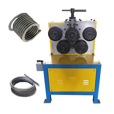 Flange bending machine bender profile pipe rolling machine