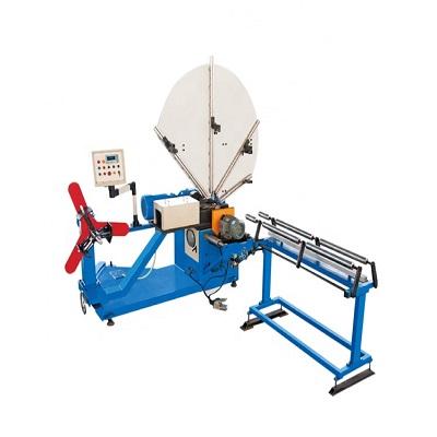 HVAC air duct manufacturing machine spiral pipe making machine