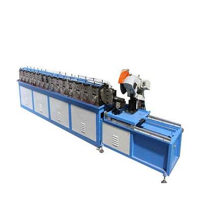 HVAC duct fabrication pipe making machine