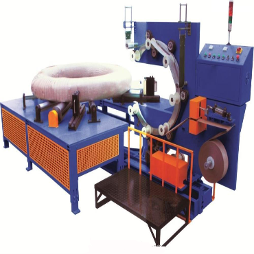Horizontal Stretch Wrapper Machine for Pipes