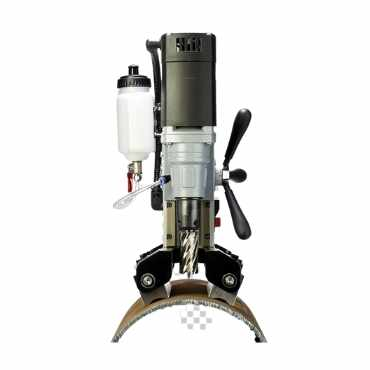 Pipe Clamp Augers Magnetic Drilling Machine