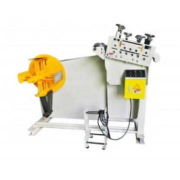 Pneumatic Motor Sheet Straightening Machine