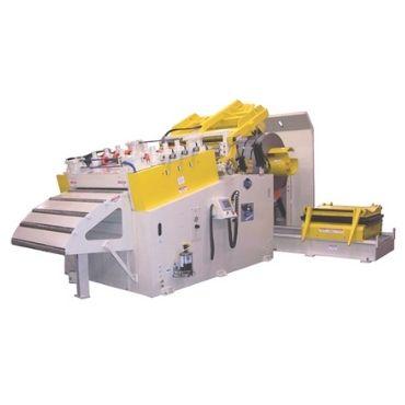 Sheet Metal Coil Lever Straightening Machine