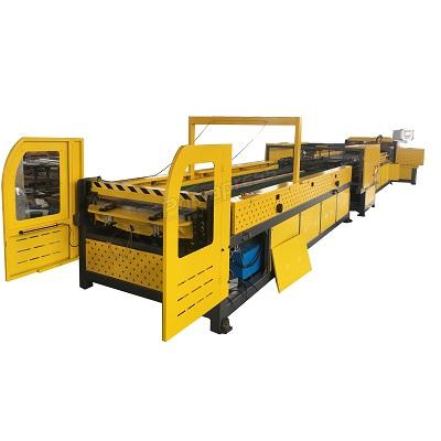 TDF flange automatical hvac air duct fabrication 5 line machine