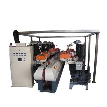 Automatic Steel Pipe Polishing Machine