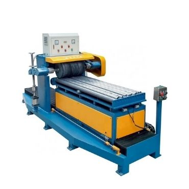 Table Fully Automatic Straight Grain Mirror Pipe Polishing Machines