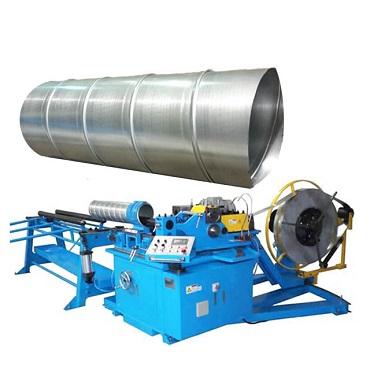 b PLC Control Duct Fabrication Machine