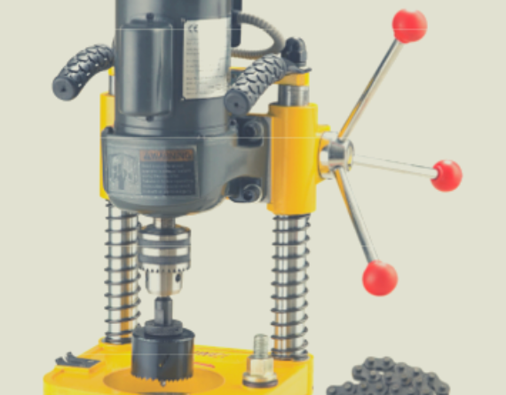 pipe drilling machine image
