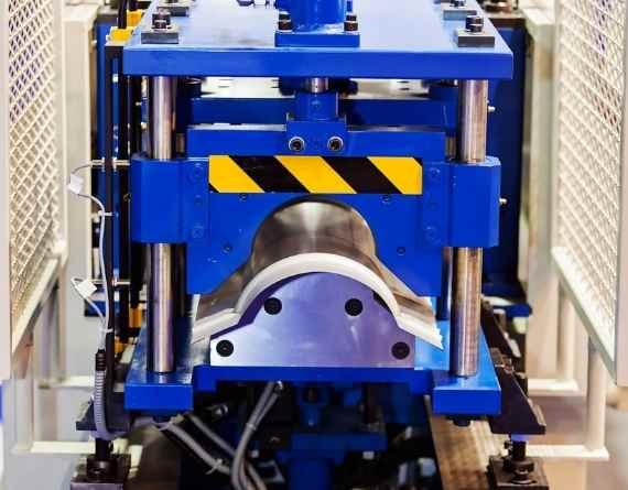 pipe twisting machine video