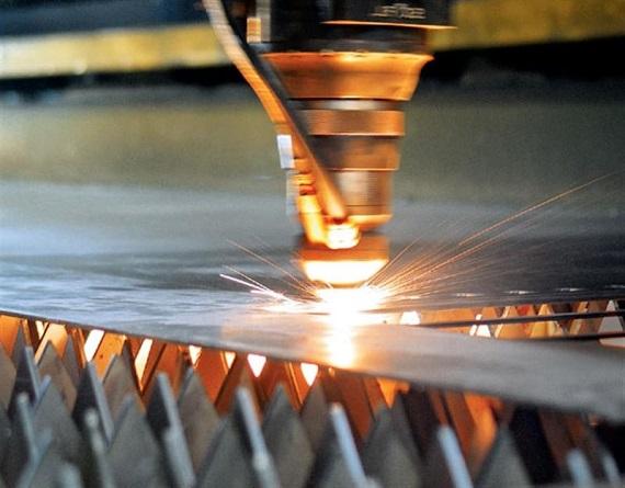 sheet metal cutting machine video