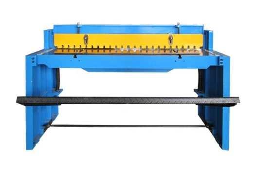 sheet metal shear machine